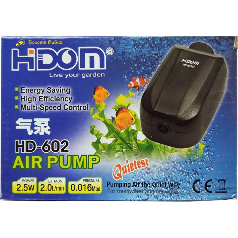 Компрессор HIDOM HD-602, 2л/мин с регулировкой мощности