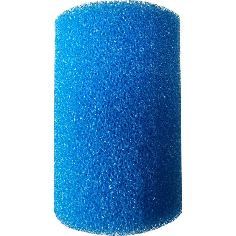 Мочалка синяя круглая (9,5*9,5*14)см