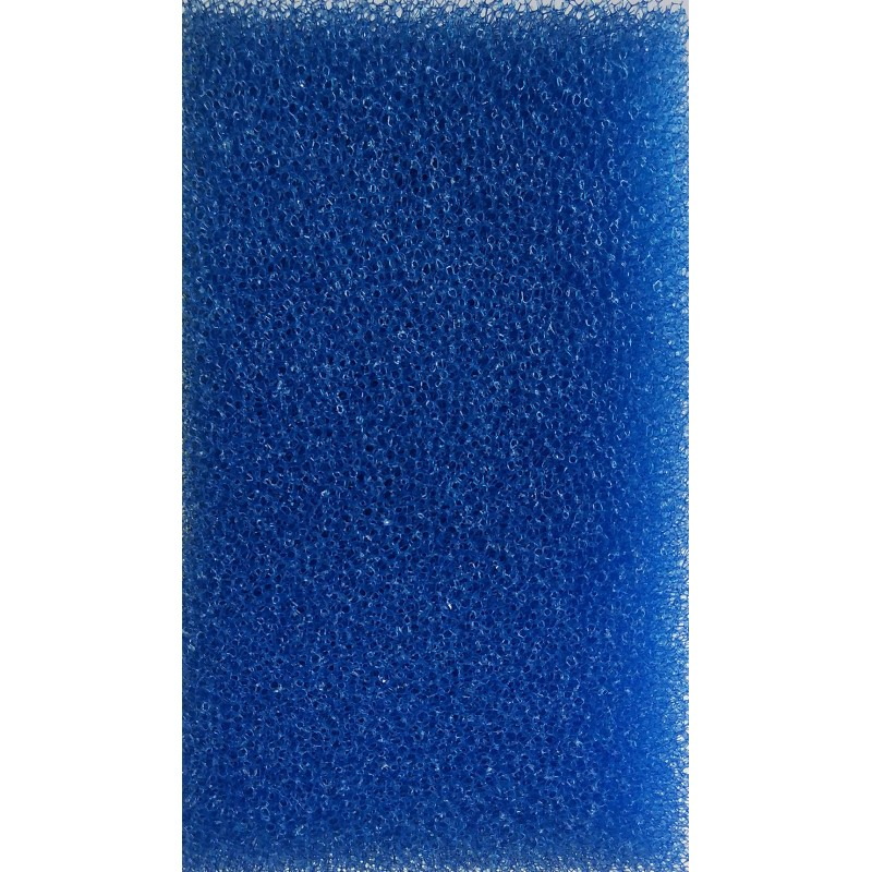 Мочалка синяя  (10*10*14)см