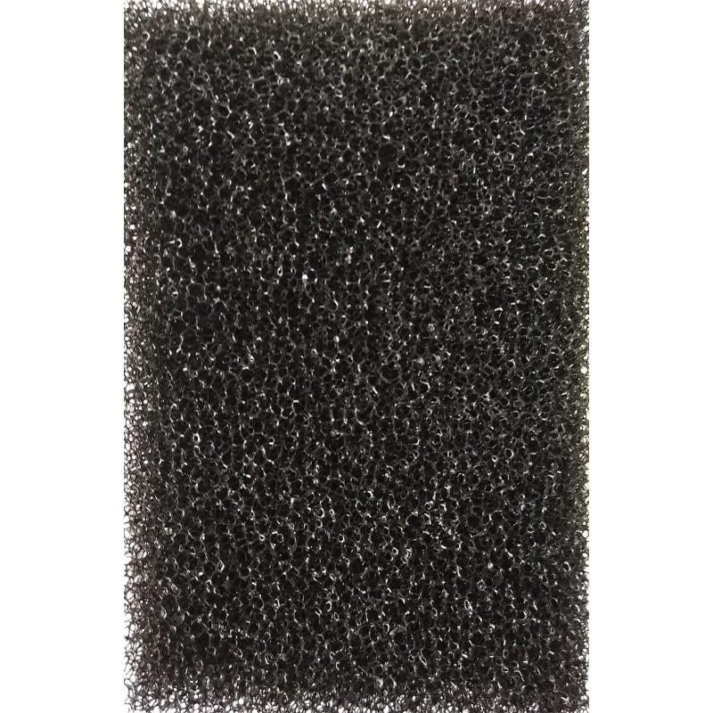 Мочалка черная  (8*8*12)см