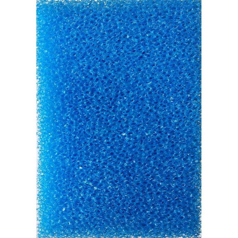 Мочалка синяя  (8*8*13)см