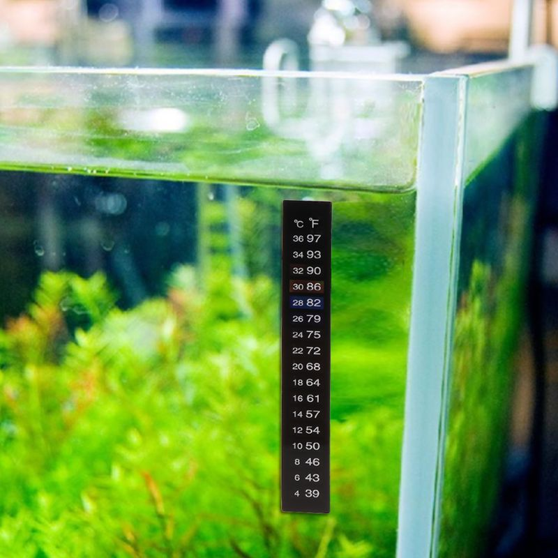 Термометр наклейка для аквариума
