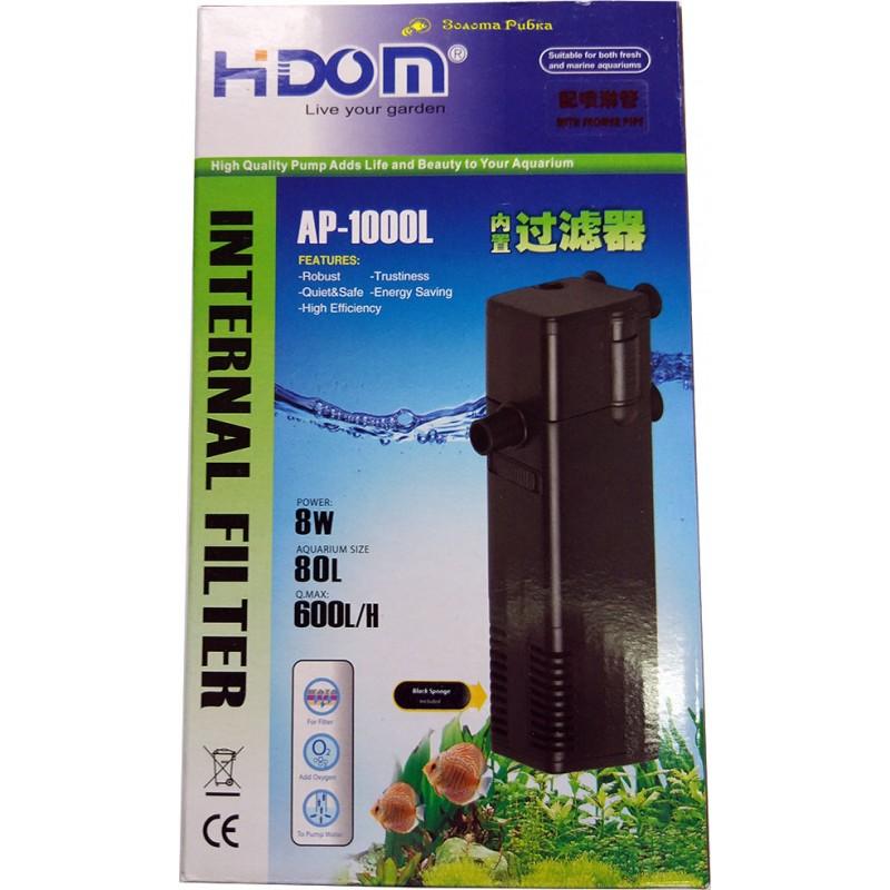 Внутренний фильтр HIDom АР-1000L