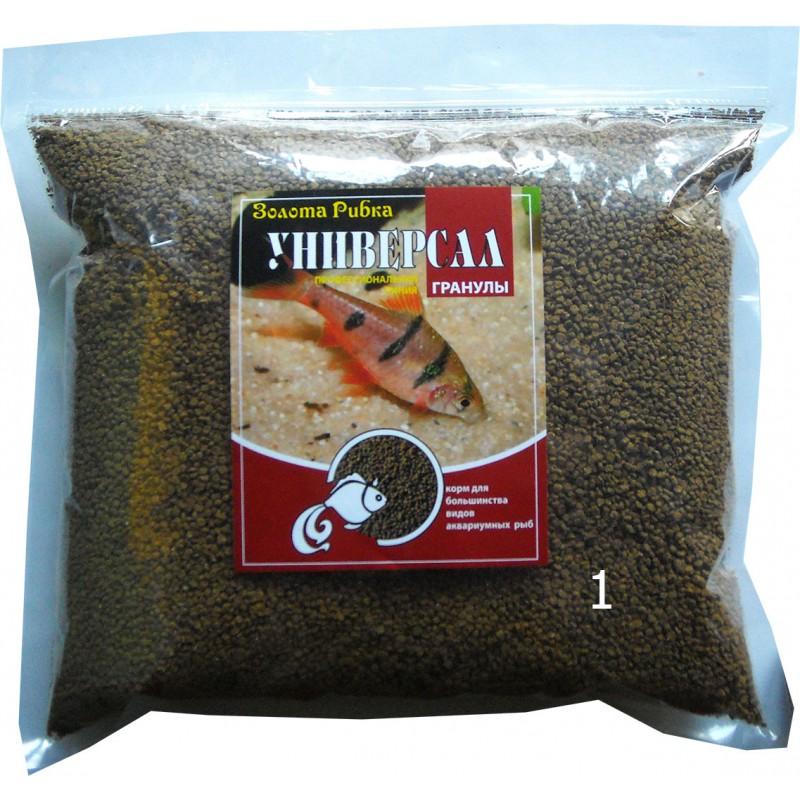 Корм для рыб Универсал размер №1 пакет  1 кг
