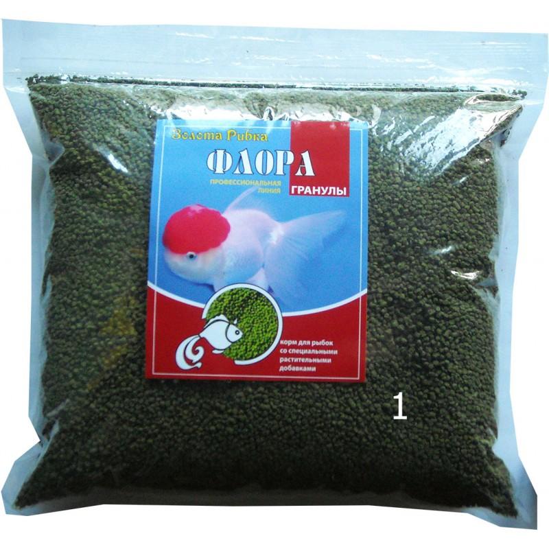 Корм для рыб Флора размер №1 пакет 1 кг