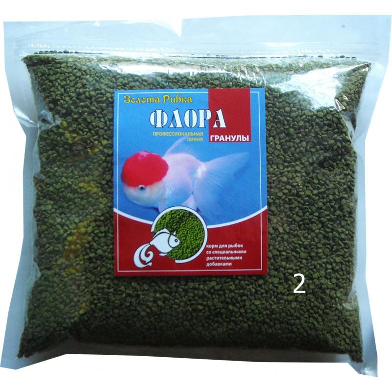Корм для рыб Флора размер №2 пакет 1 кг