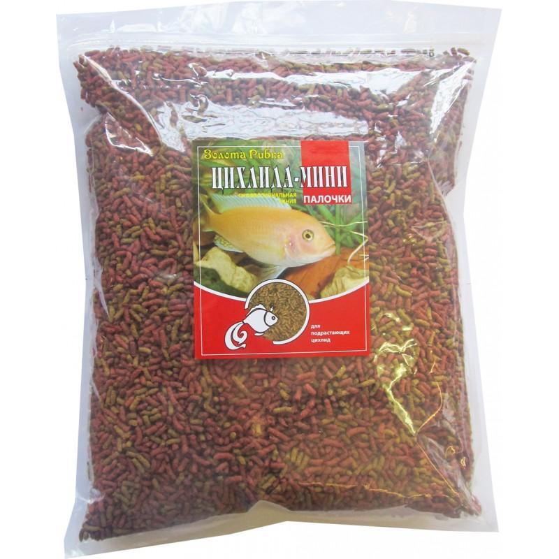Корм для рыб Цихлида Мини пакет 1 кг