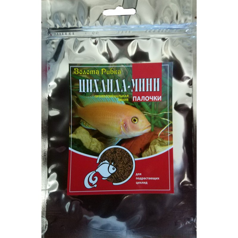 Корм для рыб Цихлида Мини пакет 140  г