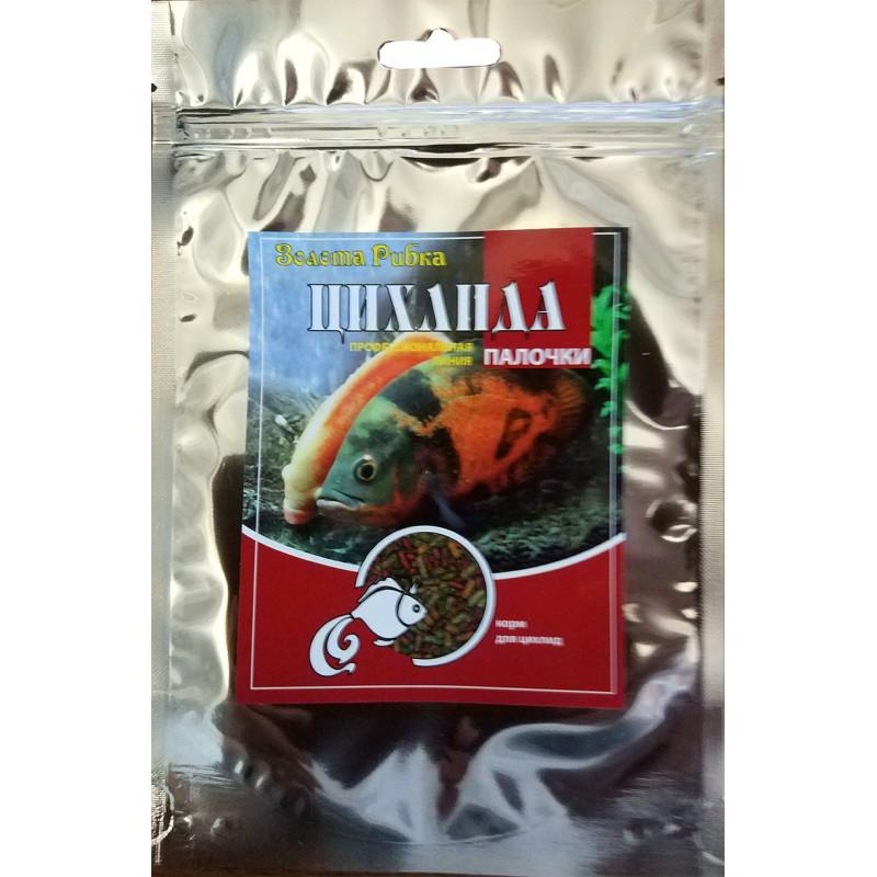 Корм для рыб Цихлида пакет 140 г