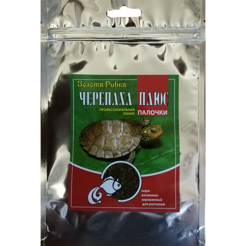 Корм для черепах  Черепаха Плюс пакет 140 г