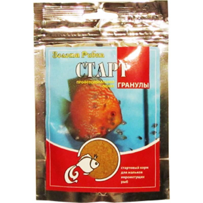 Корм для рыб Старт пакет 40 г